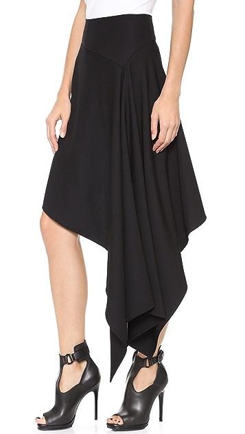 McQ - Alexander McQueen Asymmetrical Skirt