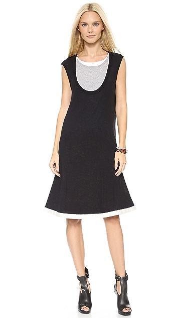 McQ - Alexander McQueen Layered Jersey Dress