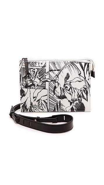 McQ - Alexander McQueen Printed Cross Body Bag