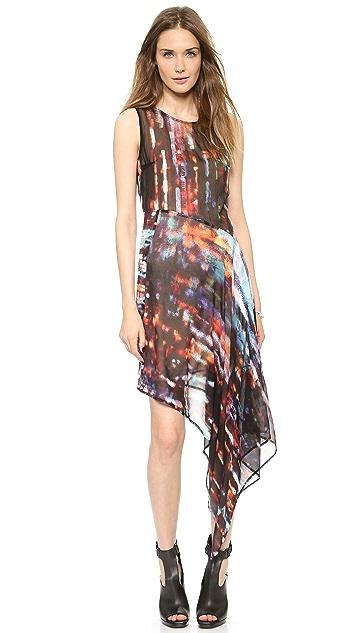 McQ - Alexander McQueen Sleeveless Asymmetrical Dress