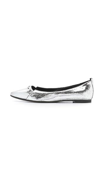McQ - Alexander McQueen Cat Razor Ballerina Flats