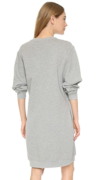McQ - Alexander McQueen Классическое платье-толстовка с рисунком