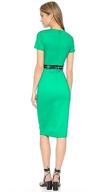 McQ - Alexander McQueen Bodycon Zip Dress