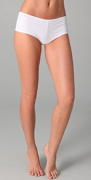 Marlies Dekkers Cotton Brazilian Boy Shorts