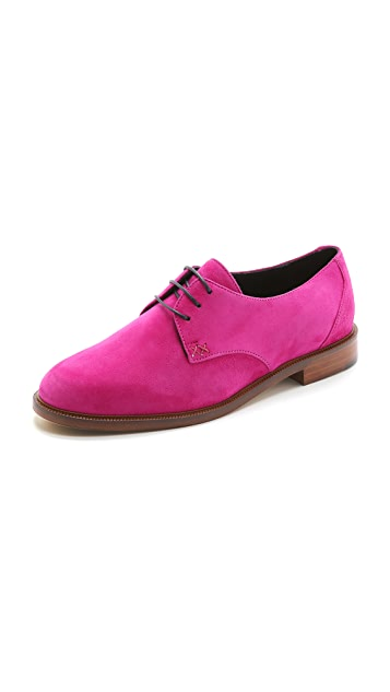 MEANDHER Jimmy Suede Oxfords