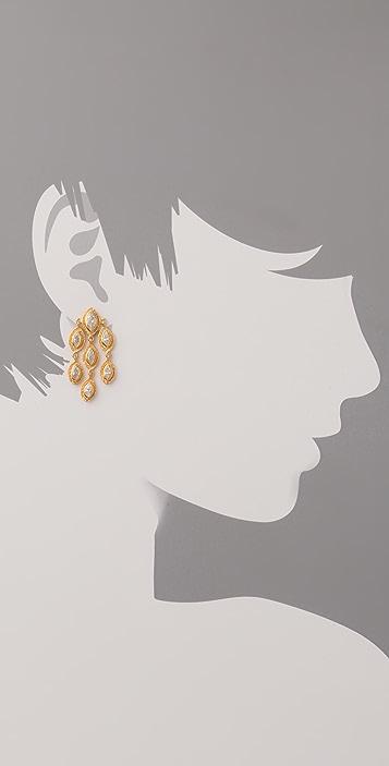 MELINDA MARIA Marquise Earrings