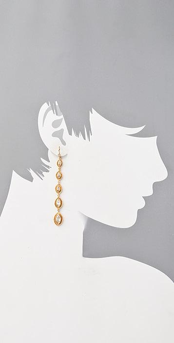 MELINDA MARIA Gwyneth Stiletto Earrings