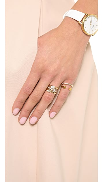 MELINDA MARIA Dharma Stacking Rings
