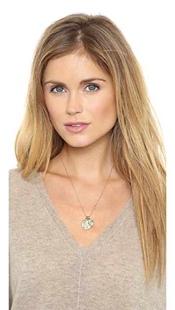 MELINDA MARIA Goddess of Peace Necklace
