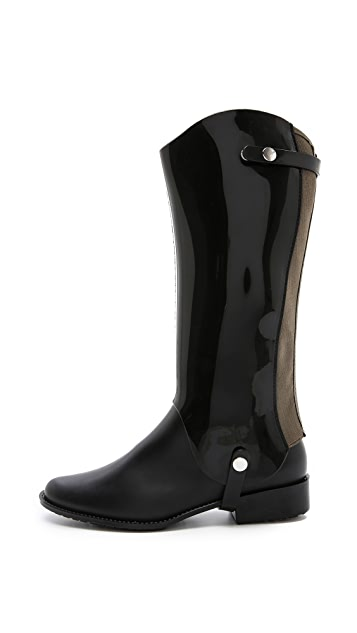 Melissa Riding Boots with Removable Shaft