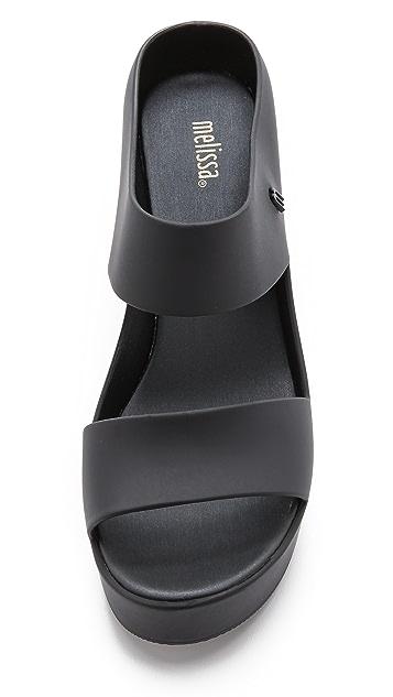 6a7fc5e4c7a ... Melissa Creative Wedge Sandals ...