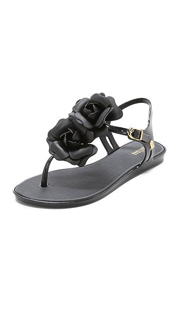 8a899ef3671 Melissa Solar Garden Sandals