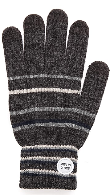 Men In Cities Touchscreen Gloves