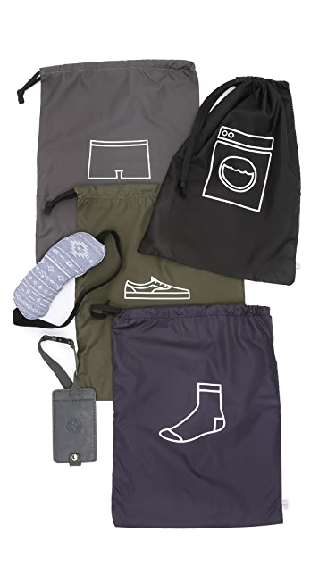 Men In Cities Travel Essentials Kit