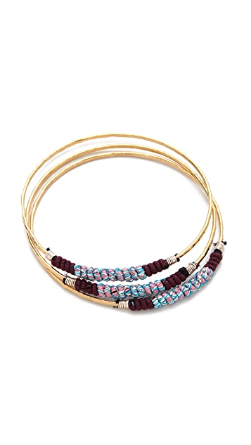 Mercedes Salazar Indigenous Bangle Set