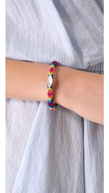 Mercedes Salazar Embellished Friendship Cuff