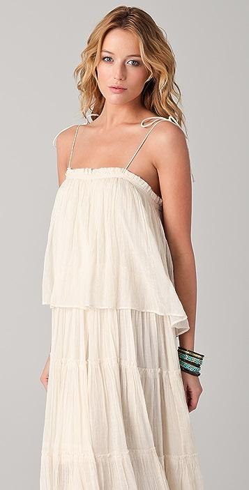 Mes Demoiselles Isadora Tiered Midi Dress