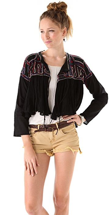Mes Demoiselles Cool Embroidered Jacket