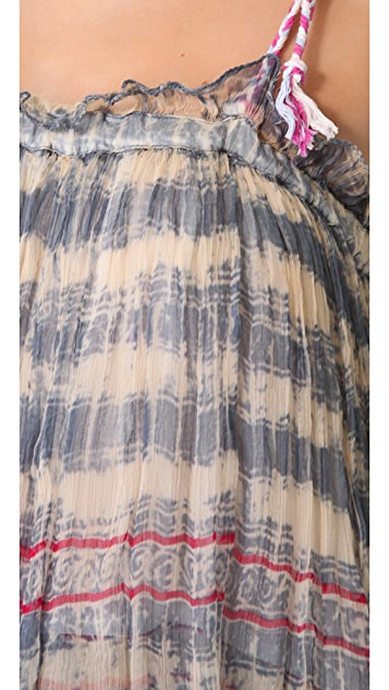 Mes Demoiselles Miracle Tie Dye Tiered Dress