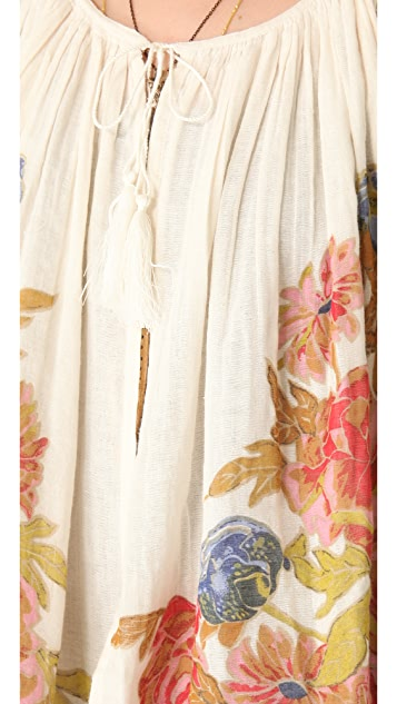 Mes Demoiselles Magda Floral Gauze Jacket