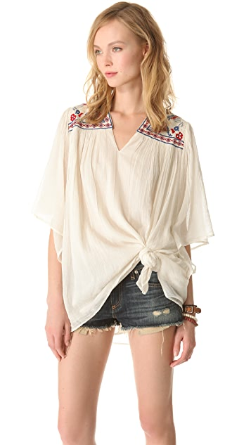 Mes Demoiselles Jill Embroidered Tunic