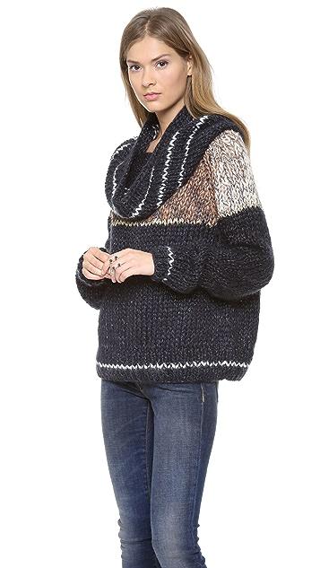 Mes Demoiselles Maud Cowl Neck Sweater