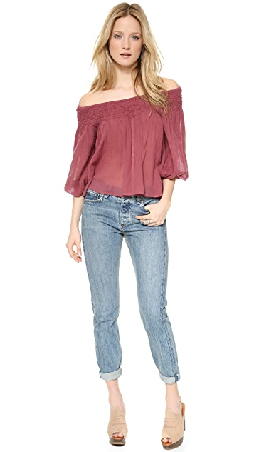 Mes Demoiselles Felicie Off the Shoulder Top