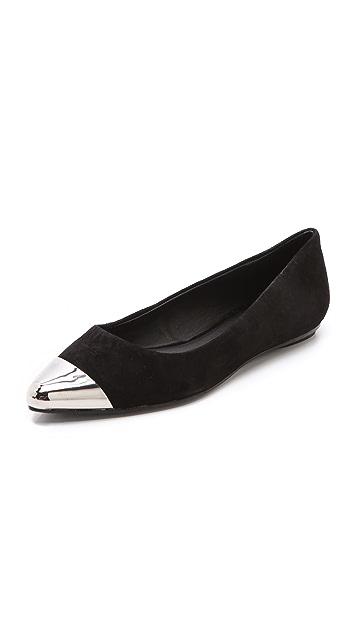 Messeca New York Jacqueline Cap Toe Flats