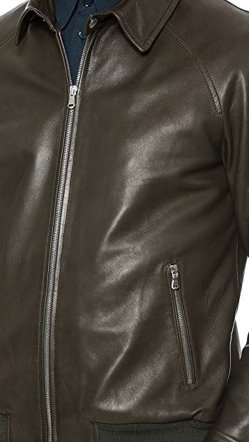Editions M.R. Leather Jacket