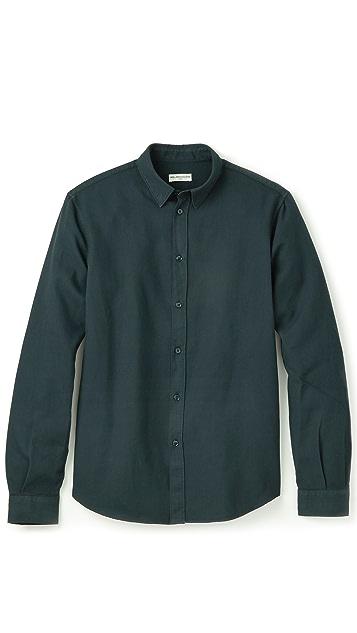 Editions M.R. Hidden Button Shirt