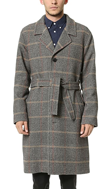 Editions M.R. Check Overcoat