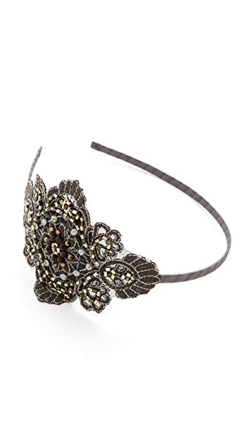 Marie Hayden Side Applique Headband