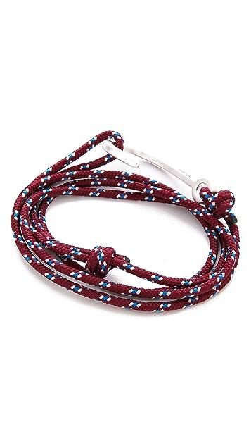 Miansai Hooked Rope Wrap Bracelet