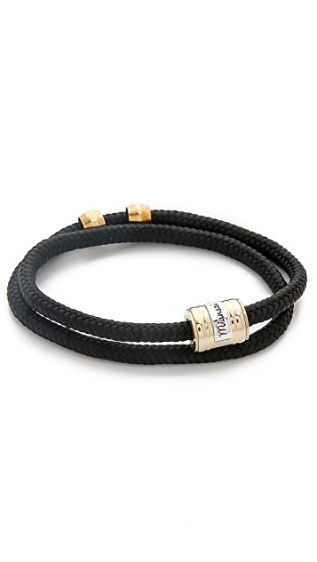 Miansai Casing Rope Wrap Bracelet