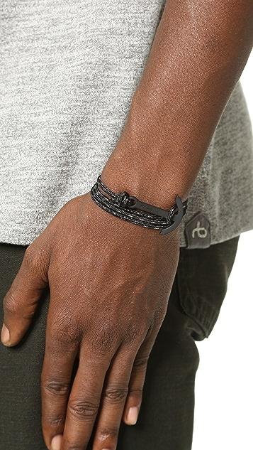 Miansai Modern Anchor Rope Wrap Bracelet