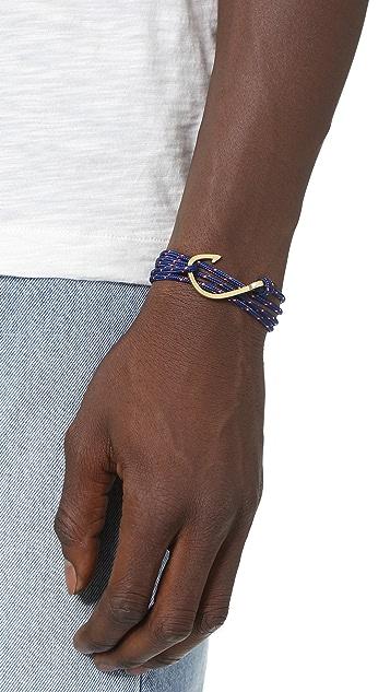 Miansai Miansai X Soludos Brass Hook Rope Bracelet