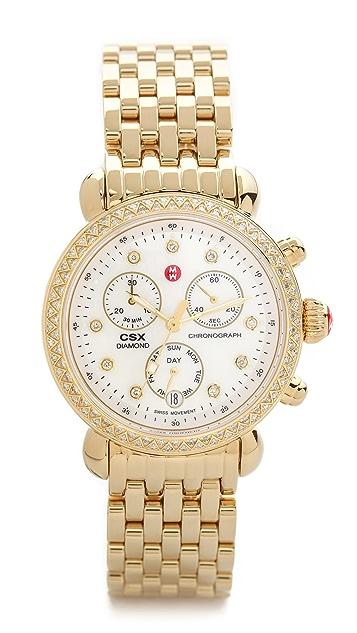 MICHELE CSX-36 Diamond Dial Watch