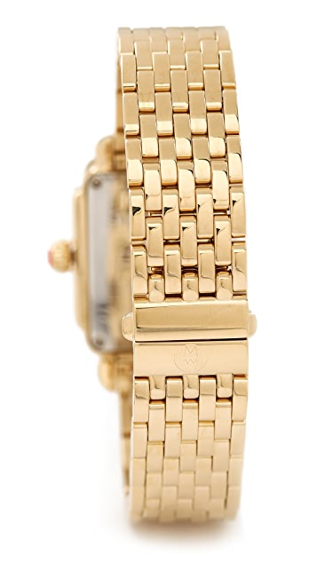 MICHELE Deco 16 Diamond Dial Watch