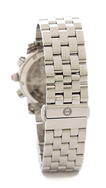 MICHELE Sport Sail Diamond Dial Watch