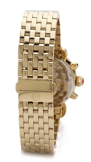 MICHELE CSX-36 18mm 7 Link Bracelet Watch Strap