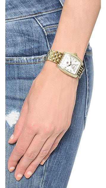 MICHELE Urban Mini 16mm 5 Link Bracelet Watch Strap