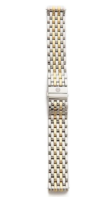 MICHELE Deco 18mm 7 Link Bracelet Watch Strap