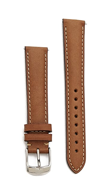 MICHELE 16mm Saddle Watch Strap