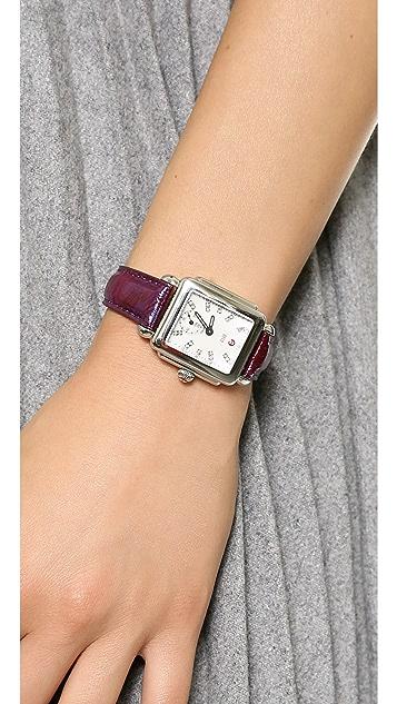 MICHELE 16mm Snakeskin Watch Strap