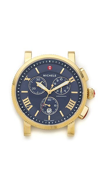 MICHELE Sport Sail Large Dial Watch