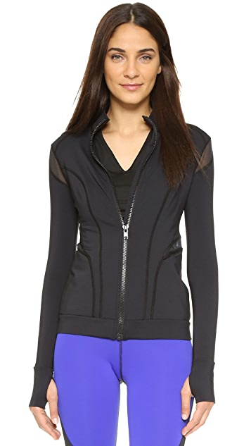 MICHI Illusion Jacket - Black