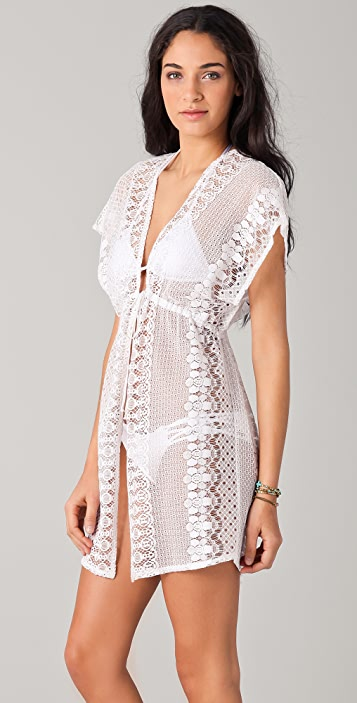 Miguelina Cassidy Lace Cover Up