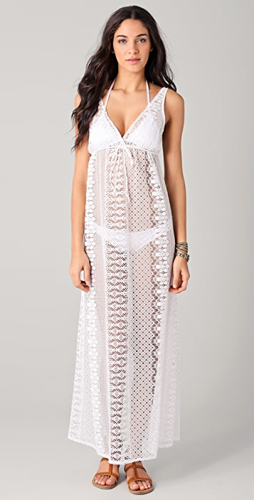 Miguelina Ellis Lace Cover Up
