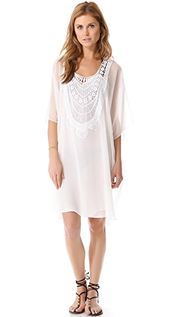 Miguelina Ava Short Cover Up Dress