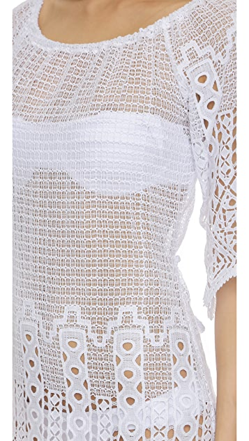 Miguelina Bridgette Tangier 蕾丝罩衫